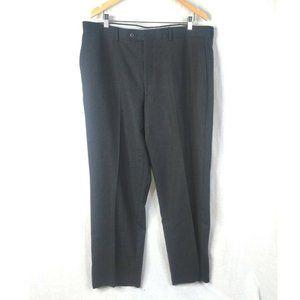 Pronto Uomo Couture Pants Mens 38 x 30 Black